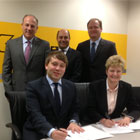 HAIMER Kennametal Duo-Lock agreement signing